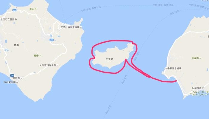 小豊島ルート